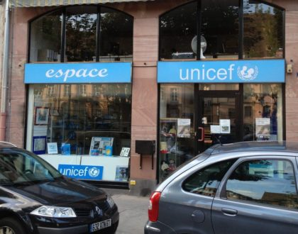 Ouverture de l'Espace Unicef