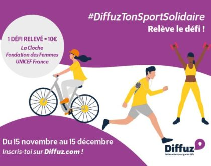 #DiffuzTonSportSolidaire : bougeons pour la #solidarité !